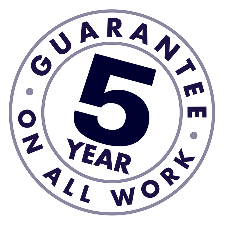5 year guarantee stamp loft and ladders